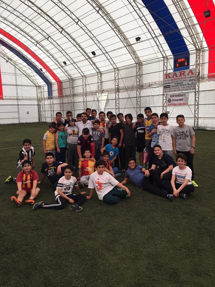 Zafer Eğitim Kurumlarından büyük futbol turnuvası…
